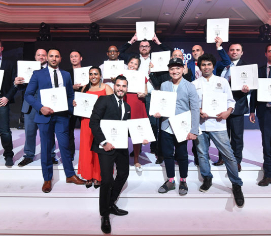 Pro Chef Middle East Awards 2017