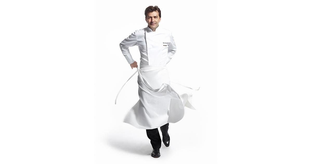 Yannick Alleno Discusses His Dubai Restaurant Sauce Extraction And