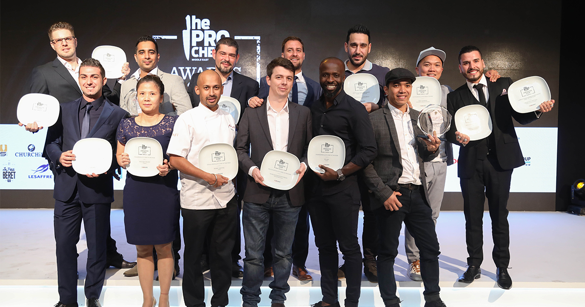 The Pro Chef Middle East Awards praises culinary prowess in sixth outing