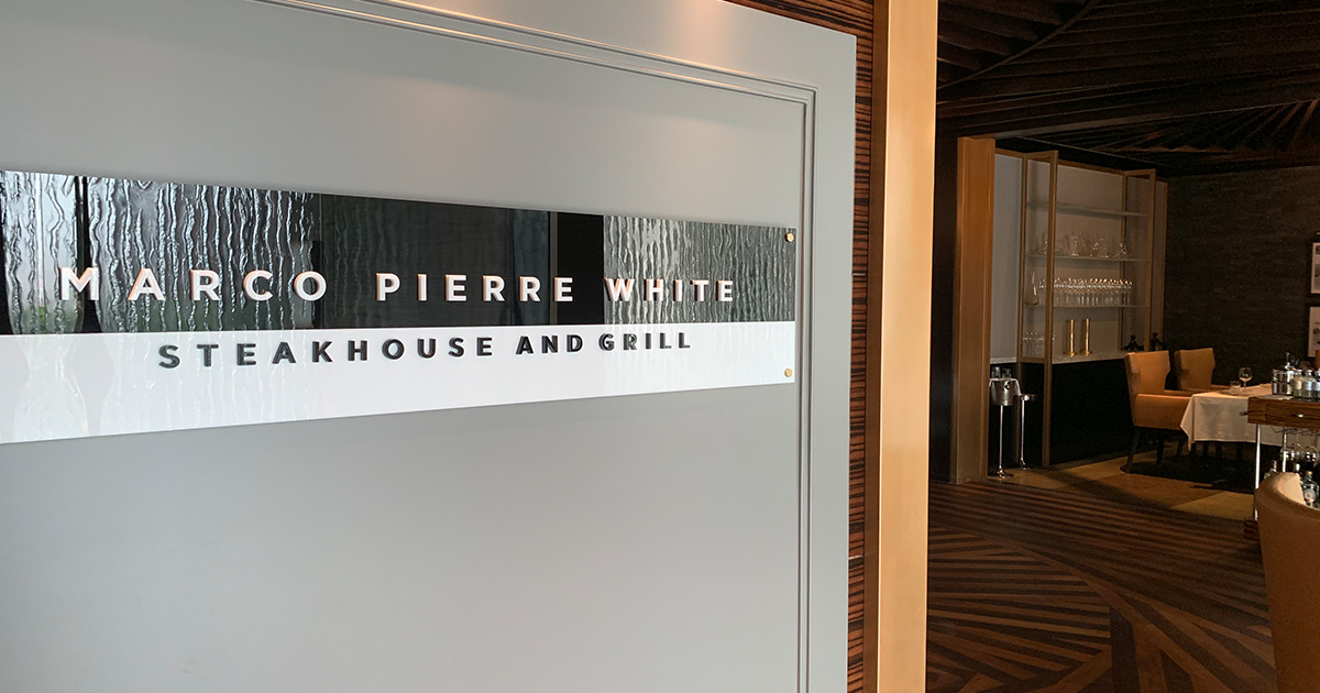 Marco Pierre White Steakhouse & Grill returns with fresh look and menu