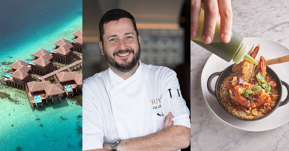 From desert to sea: Colin Clague on his culinary residency in the Maldives