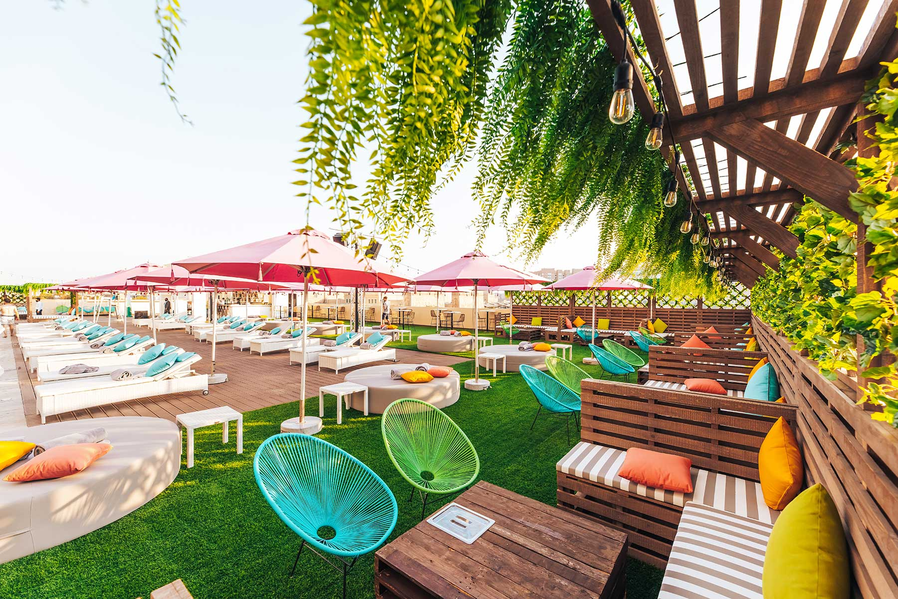 The new Missippi Pool Bar & Social Hub in Dubai