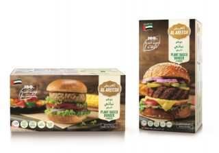 Al Areesh plant-based burger patties