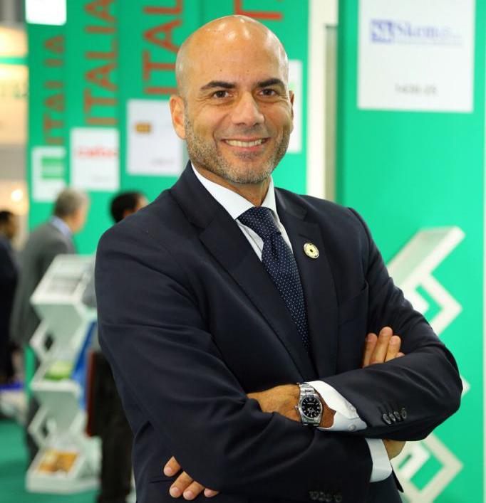 Amedeo Scarpa, Italian Trade Commissioner/ICE Dubai office
