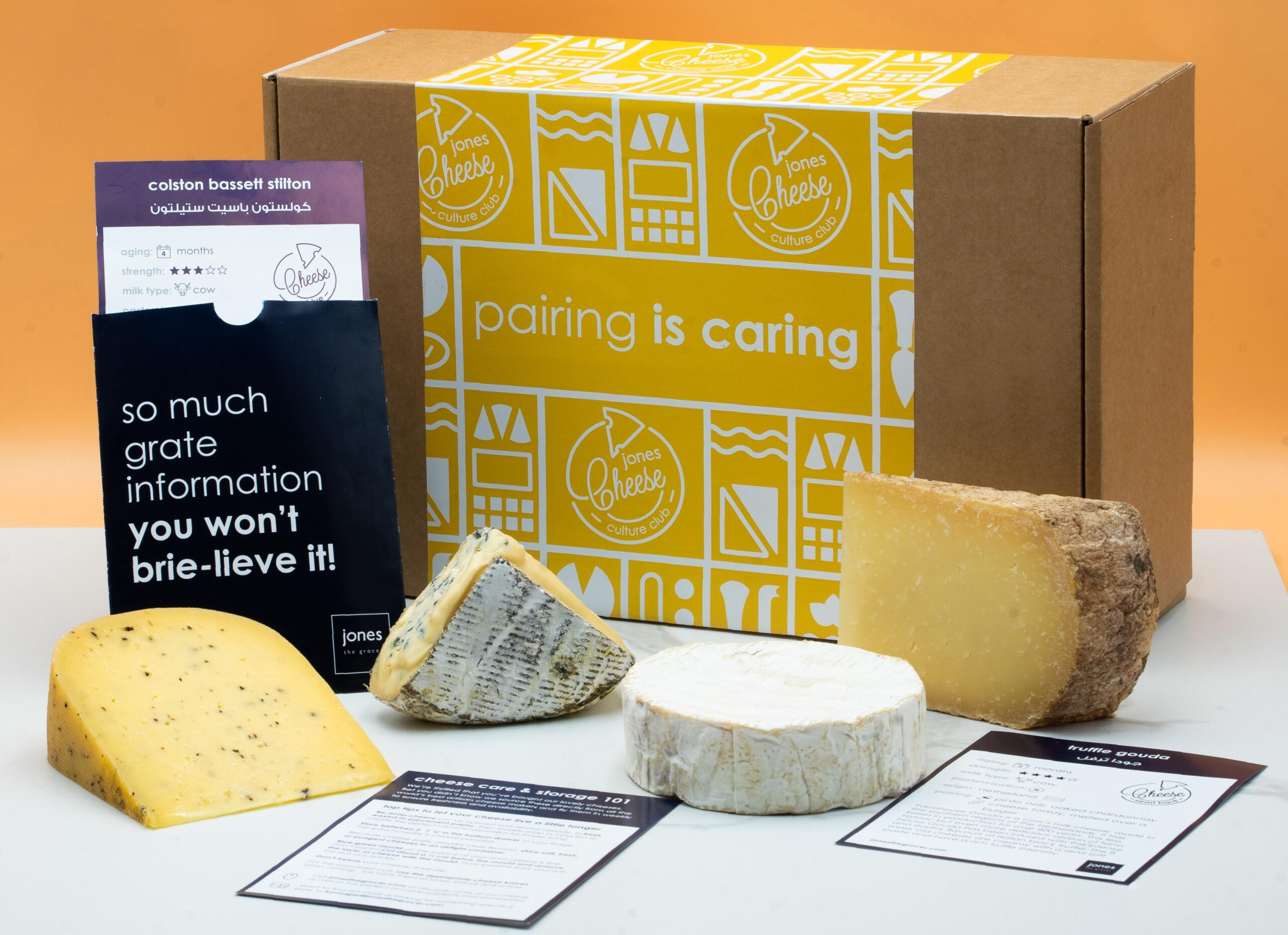 Jones The Grocer Cheese Subscription
