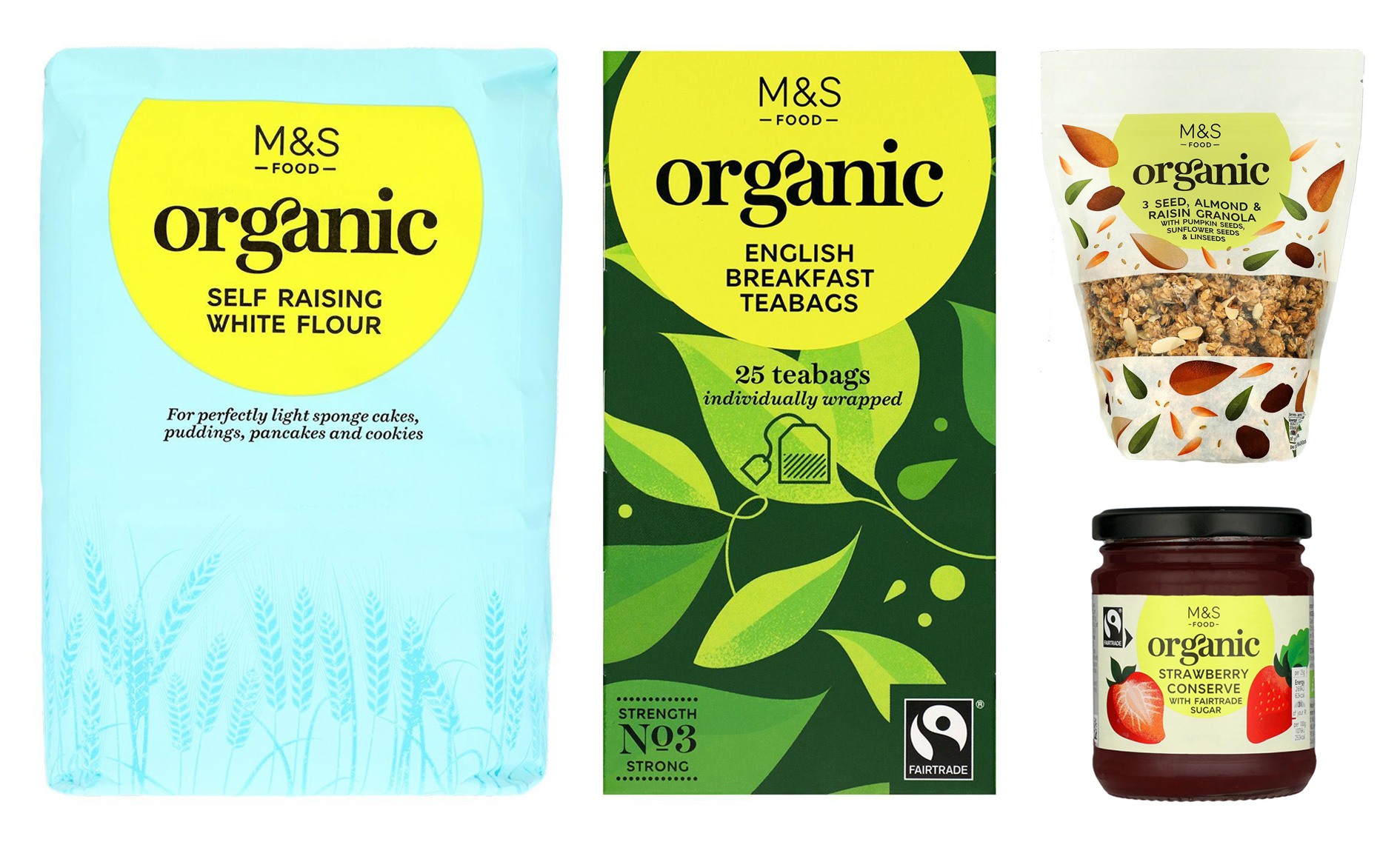 Marks & Spencer Organic food