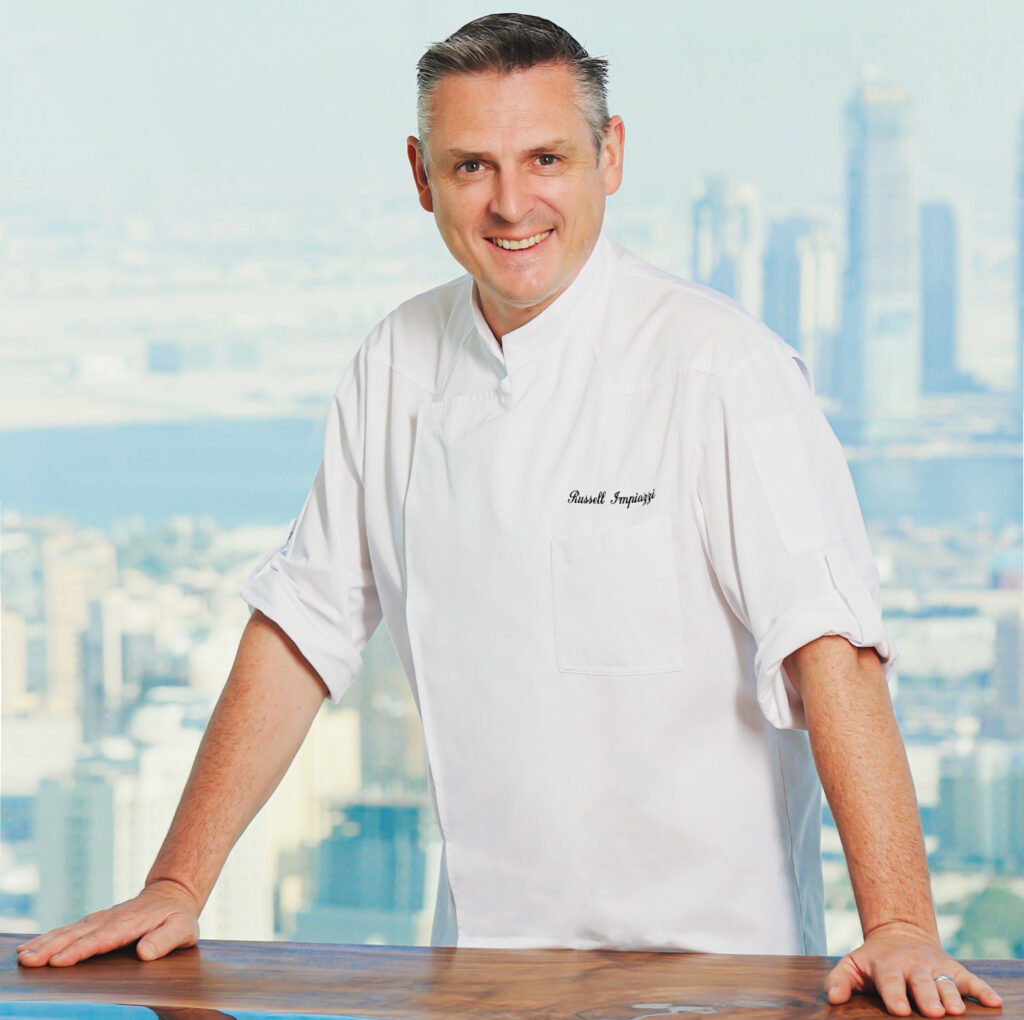 Chef Russell Impiazzi, Sofitel Dubai The Obelisk