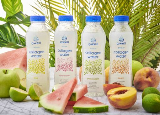 Qwell Collagen water