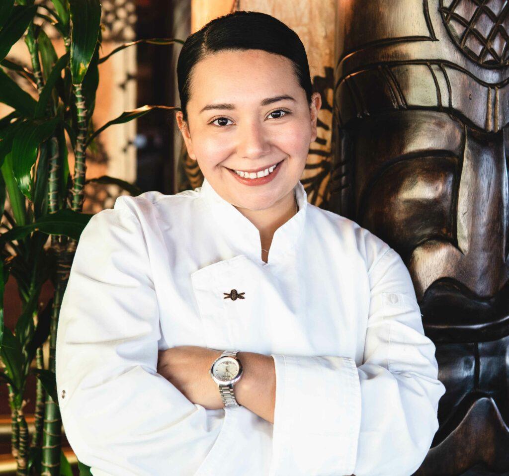 Chef Maria Gallegos Carranza, Trader Vic's Hilton Dubai Jumeirah