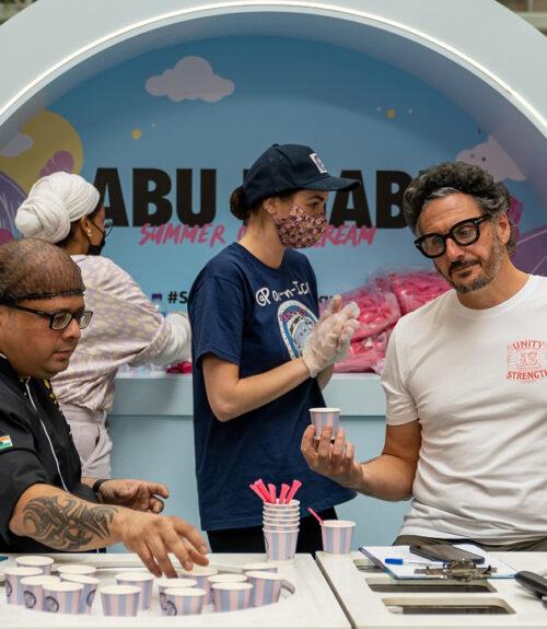 Abu Dhabi Culinary, Guinness World Record Ice Cream