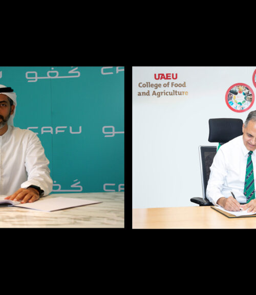 CAFU and UAEU Ghaf Seeds MOU