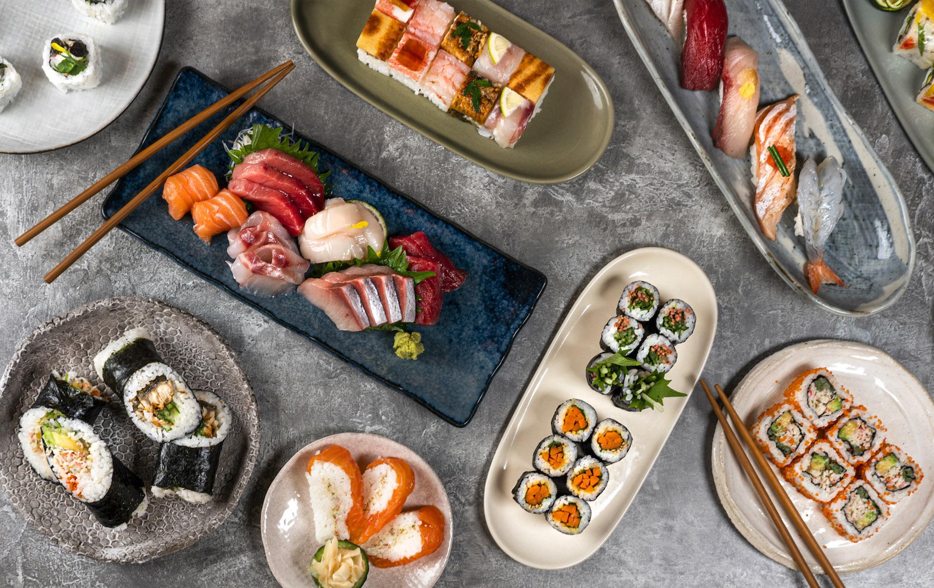 Kitch-In premium sushi Su'Chill Deliveroo