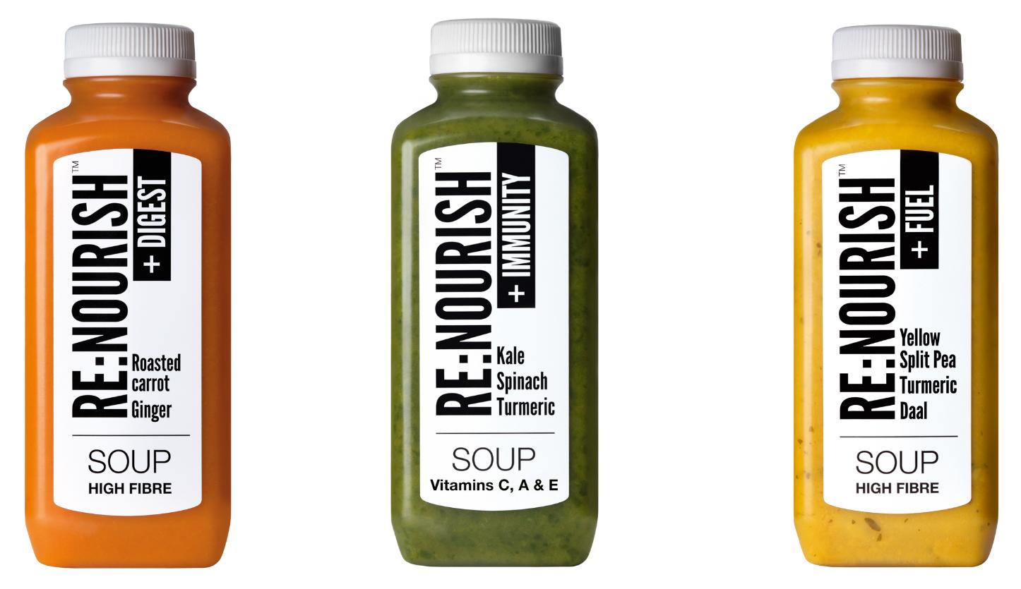 Re:Nourish Microwavable Soup Choithrams Dubai