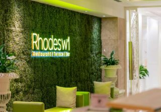 Rhodes W1 at the Grosvenor House