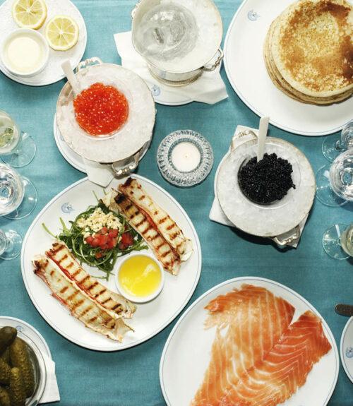 Caviar Kaspia Dubai