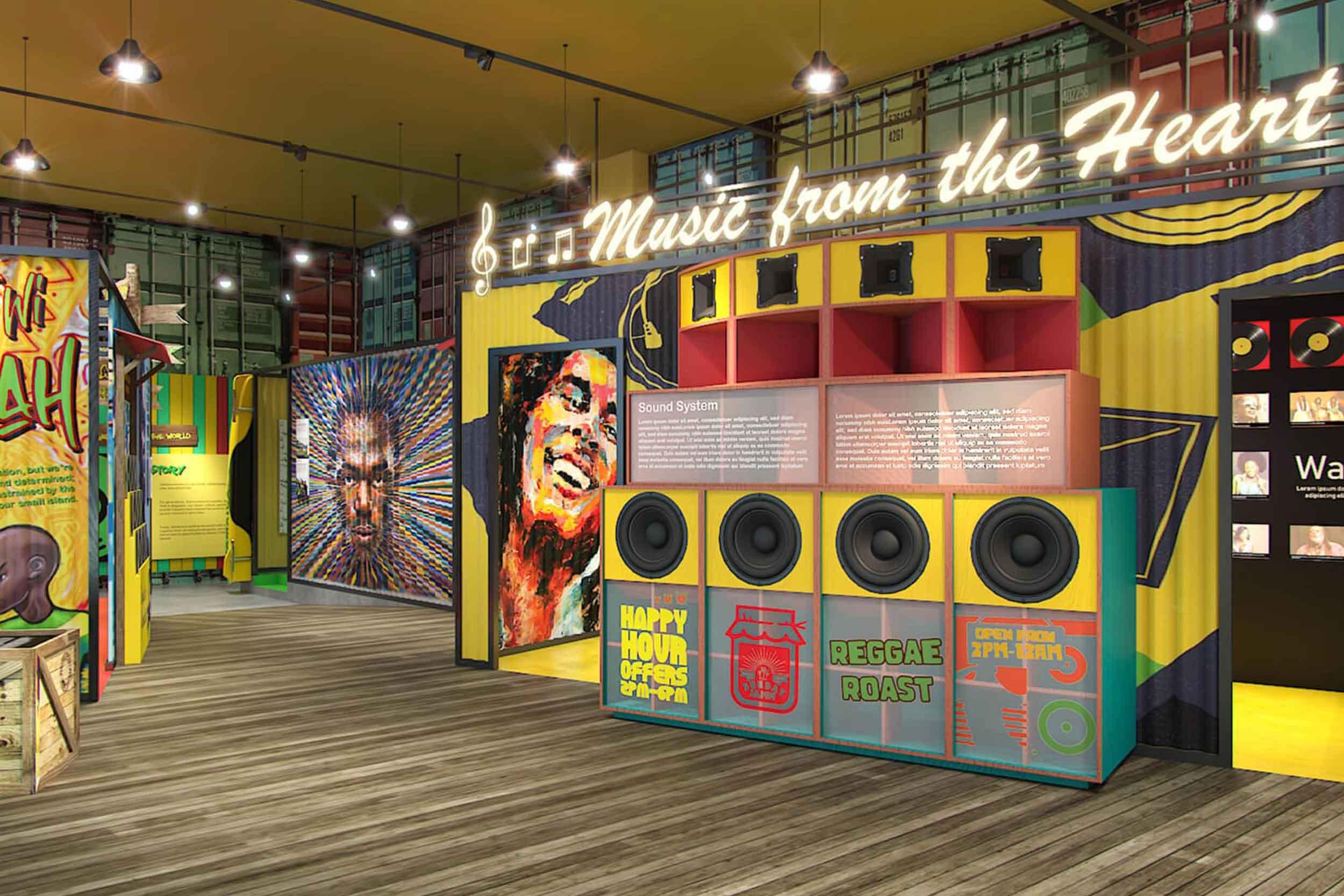 Mokha 1450 Jamaica Pavilion Expo 2020